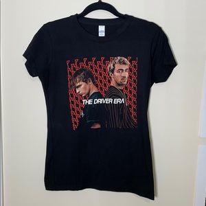 The Driver Era Official Merch Black T-shirt